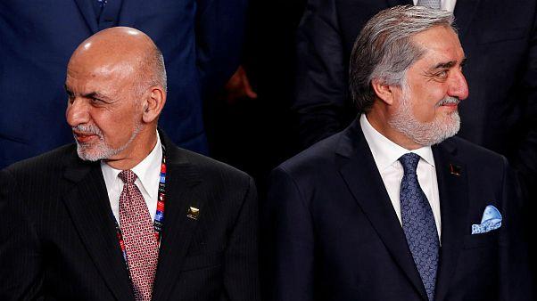 عبدالله و غنی مدعی پیروزی در انتخابات ریاست جمهوری افغانستان شدند