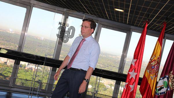 El alcalde en la presentación del plan