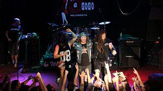 A Tankcsapda 2015-ös koncertjén a hollywoodi klubban