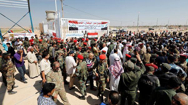 Ирак и Сирия открыли крупнейший КПП