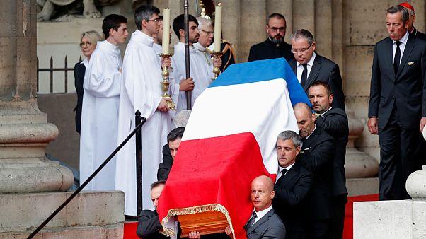 مراسم خاکسپاری ژاک شیراک با حضور رهبران جهان برگزار شد