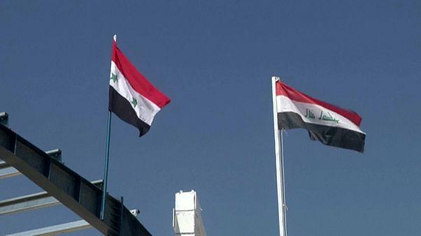 Irak ile Suriye arasındaki sınır kapısı El-Kaim beş yıl sonra yeniden açıldı