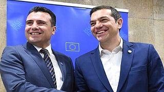 Συνάντηση Τσίπρα-Ζάεφ στα Σκόπια