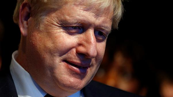 Britain's Prime Minister Boris Johnson attends the Conservative Party annual conference in Manchester, Britain, September 30, 2019.