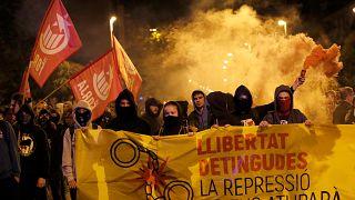Tensión máxima en Cataluña en el aniversario del 1-O
