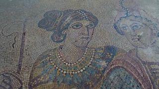 La villa romana de la Noheda muestra sus impresionantes mosaicos, los mejores del Imperio