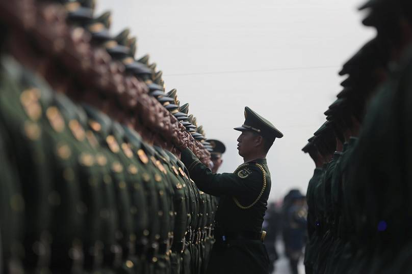 Beijing, China October 1, 2019. Han Haidan/CNS via REUTERS