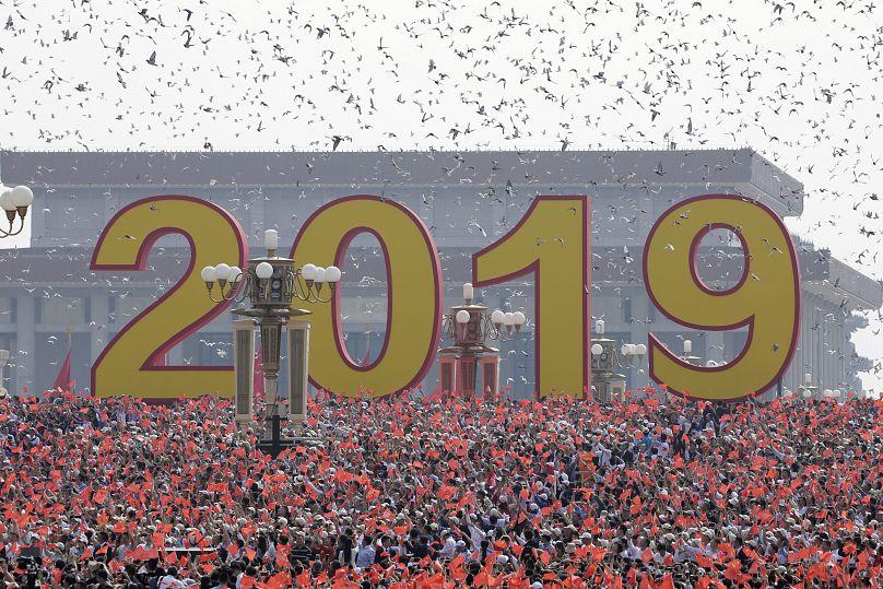 Beijing, China October 1, 2019. REUTERS/Jason Lee