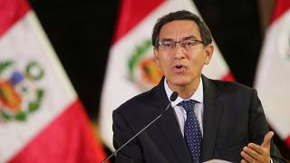 الرئيس البيروفي مارتن فيزكارا