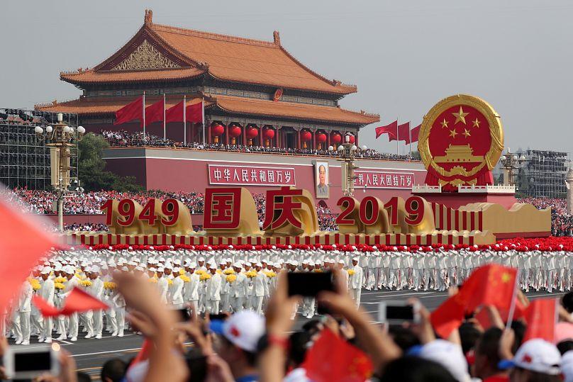 Beijing, China October 1, 2019. China Daily via REUTERS