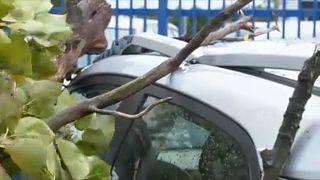 Súlyos károkat okozott a vihar Lengyelországban