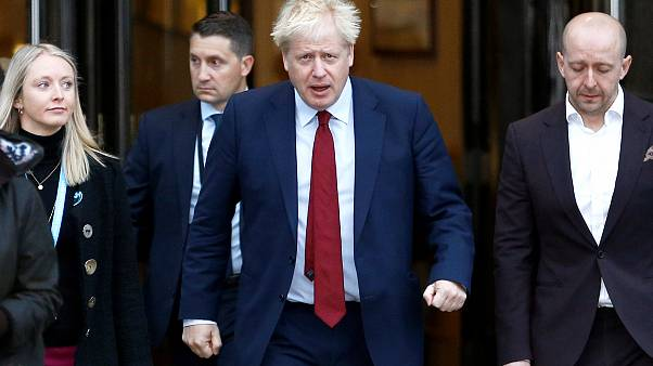 رئيس الحكومة البريطانية بوريس جونسون