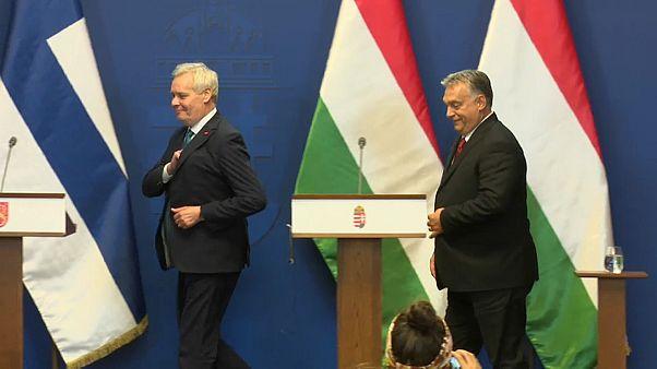 Rechtsstaat: Antti Rinne sägt an Victor Orbáns Nerven