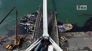 Ταϊβάν: Έξι εγκλωβισμένοι σε κατάρρευση γέφυρας