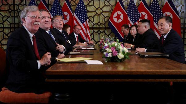 من القمة الأميركية-الكورية الشمالية في هانوي في شباط/فبراير الفائت