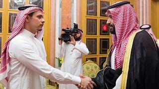 استضاف ولي العهد السعودي محمد بن سلمان أسرة خاشقجي