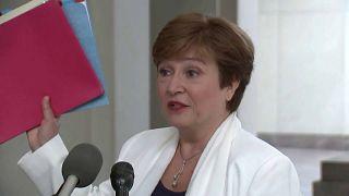 ΔΝΤ: Ανέλαβε επισήμως τα καθήκοντά της η Γκεοργκίεβα