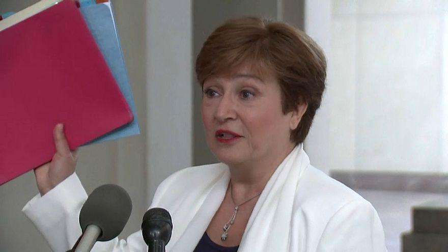 Kristalina Georgieva llega como nueva directora al Fondo Monetario Internacional