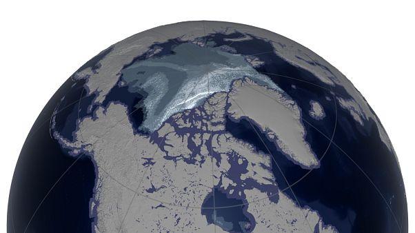 [Vídeo] Treinta y cinco años de deshielo del Ártico, en dos minutos
