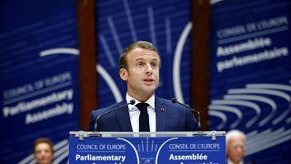 Macron pide reforzar los valores europeos para luchar contra los regímenes autoritarios