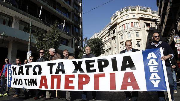«Παραλύει» η Ελλάδα από την 24ωρη απεργία