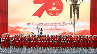 شاهد: الصين تستعرض قوتها العسكرية في الذكرى السبعين لقيام النظام الشيوعي