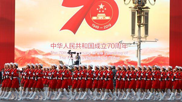 جشن ۷۰ سالگی برپایی حکومت کمونیستی در چین