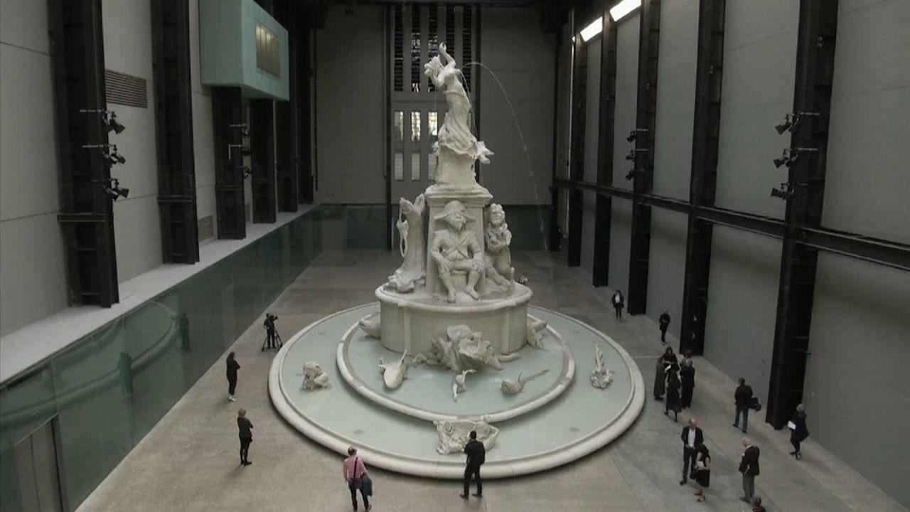 A rabszolgaság történetét meséli el egy monumentális szökőkút