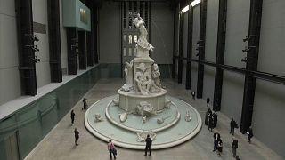 """Fons Americanus"" de Kara Walker, au Tate Modern de Londres."