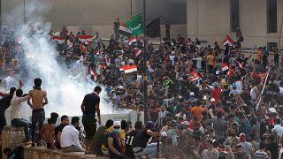 مظاهرات في بغداد للمطالبة بالخدمات وفرص العمل