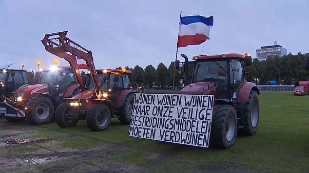 На тракторе против Греты