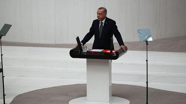 Ερντογάν: «Κάθε εξέλιξη σε Μεσόγειο και Αιγαίο μας αφορά άμεσα»