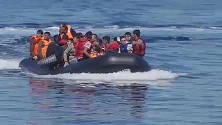 Лесбос: нескончаемый поток мигрантов