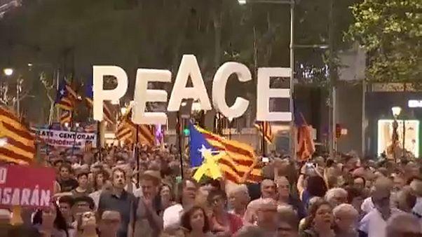 Békés polgári engedetlenségre készülnek a katalán szeparatisták