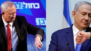 İsrail'de Netanyahu'nun koalisyon kurma çağrısını Gantz reddetti