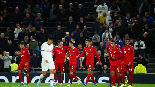 Champions-League: Bayern schlägt Tottenham mit 7:2