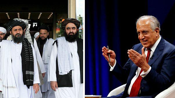 طالبان با زلمای خلیلزاد در پاکستان دیدار کردند