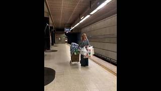 Homeless soprano captures hearts with operatic subway serenade