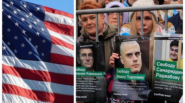 """Сенаторы США призвали ввести санкции против РФ """"за преследование оппозиции"""""""