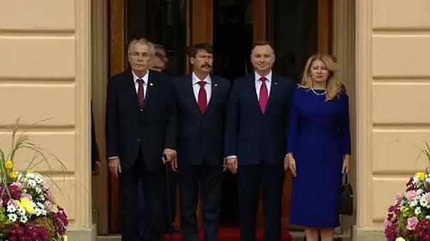 V4-csúcs a brexitről és a Nyugat-Balkánról