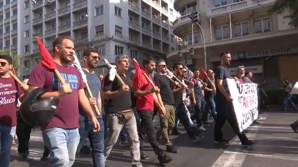 Grecia contempla la segunda huelga en una semana