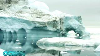 Gyönyörű az olvadó sarki jég, de a klímakatasztrófa sokkoló jele