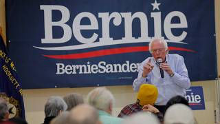 U.S. presidential hopeful Bernie Sanders hospitalised with chest pains — campaign