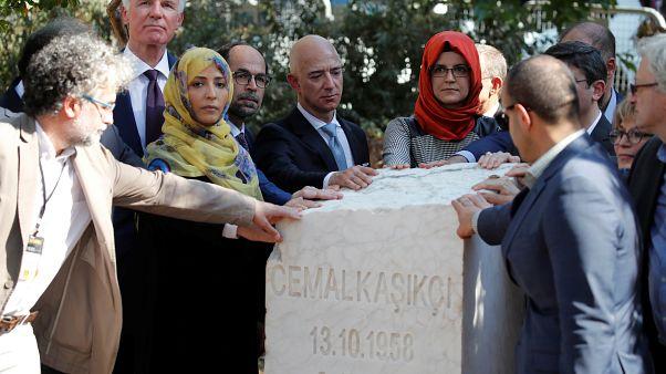 Jahrestag: Gedenken an Jamal Khashoggi