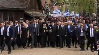 Thousands take part in March of the Living from Auschwitz to Birkenau
