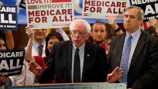 Usa: problemi al cuore per Sanders, campagna sospesa