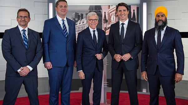 Καναδάς: Τηλεμαχία σε υψηλούς τόνους μεταξύ των βασικών υποψηφίων