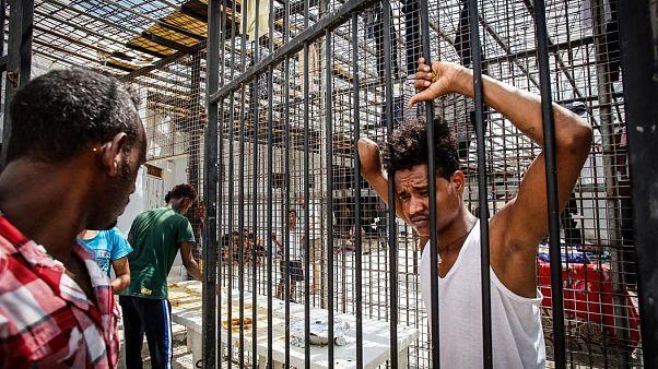 Centro de detención en Tarik Sika.