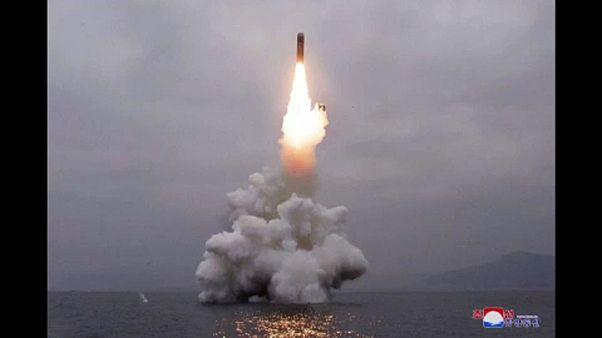 Ballisztikus rakétát tesztelt Észak-Korea