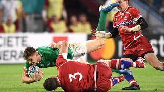 Irlanda vence a Rusia en el Mundial de Japón por 35-0